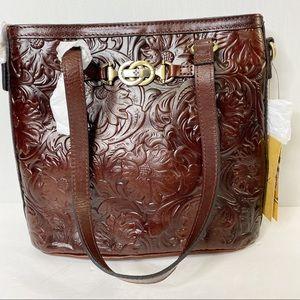 Patricia Nash Tooled Lundy Crossbody Bag. NWT